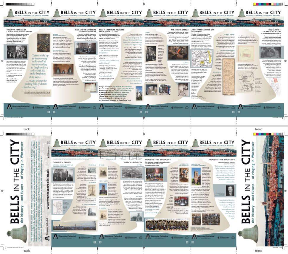 concertina leaflet design
