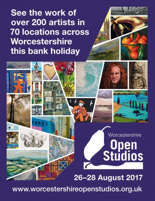 open studios advert design